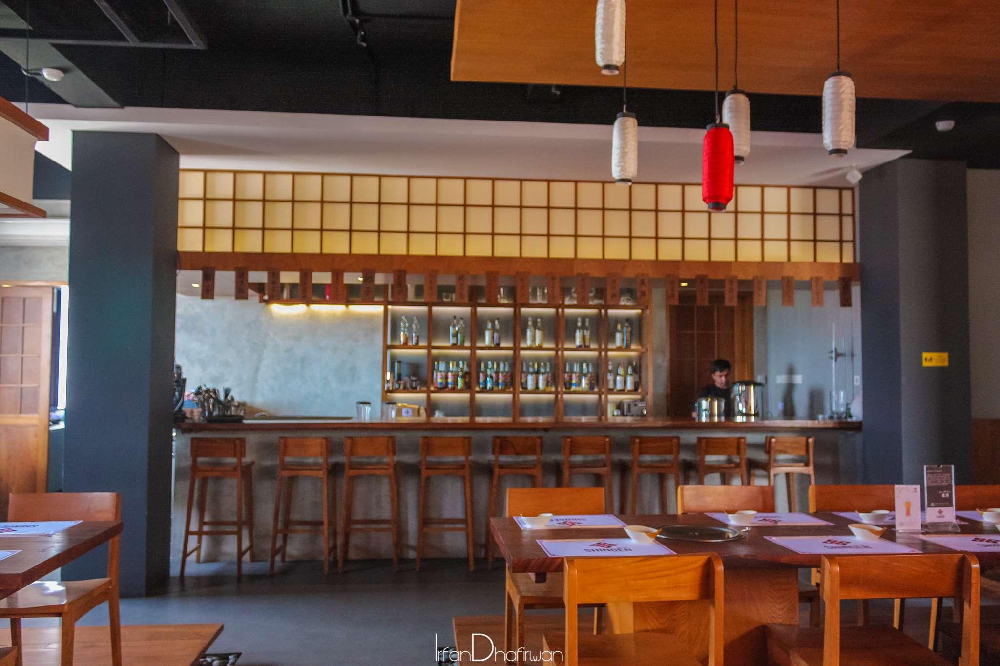 Desain rumah makan jepang interior
