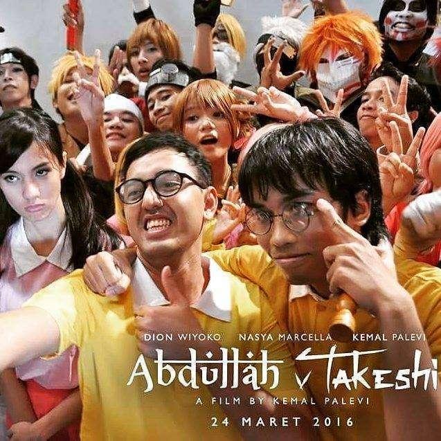 Poster Abdullah v Takeshi