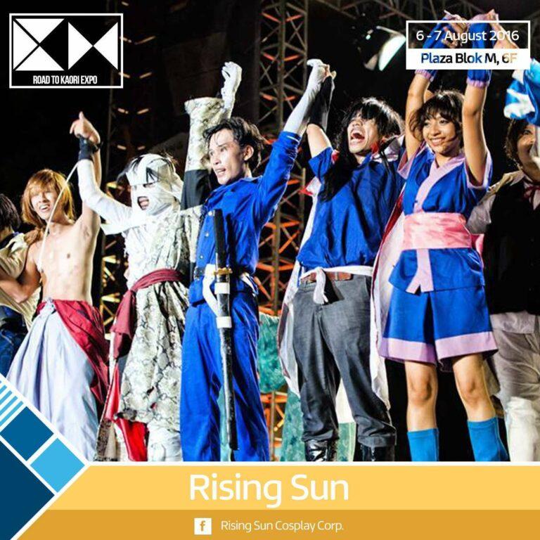 Rising Sun road to kaori expo