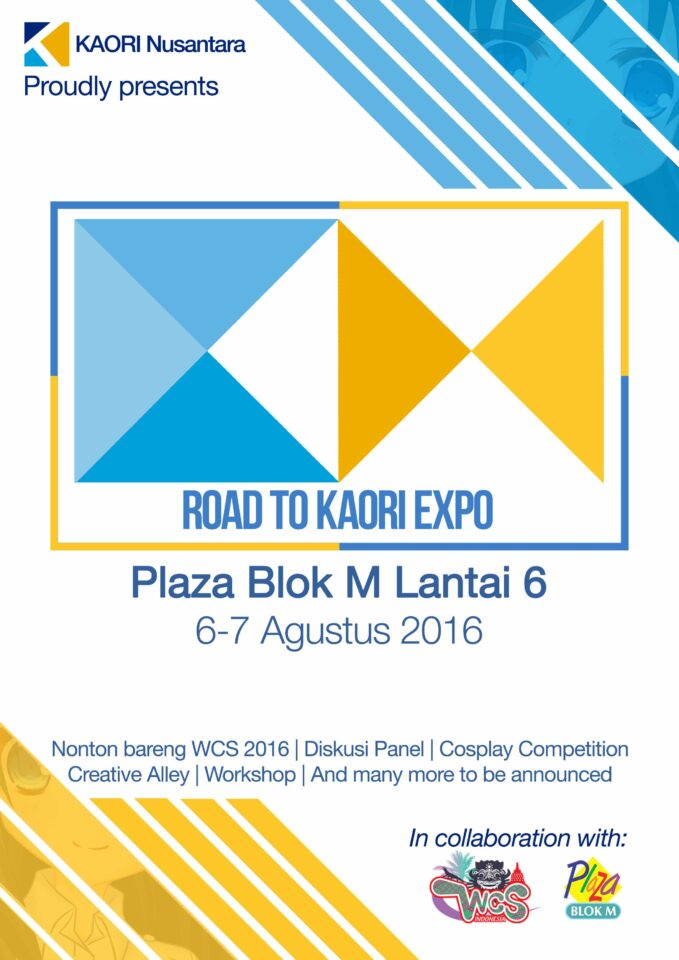 Road to KAORI Expo Poster Early Promotion