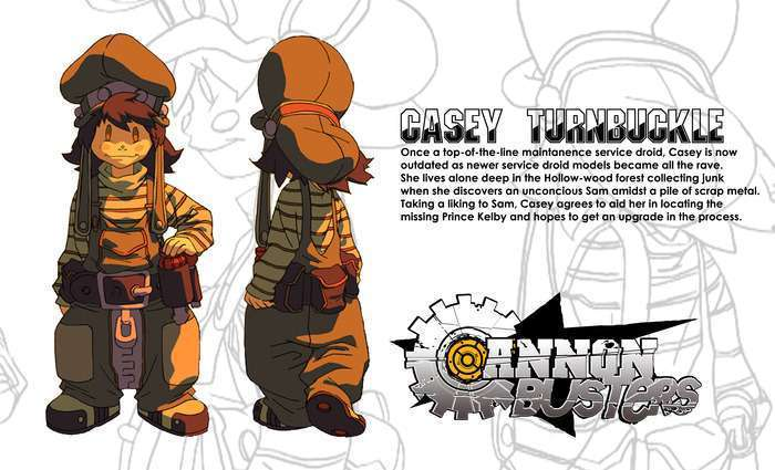 cannon busters casey turnbunckle