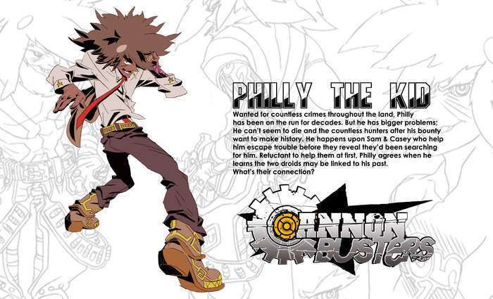 cannon busters philly the kid