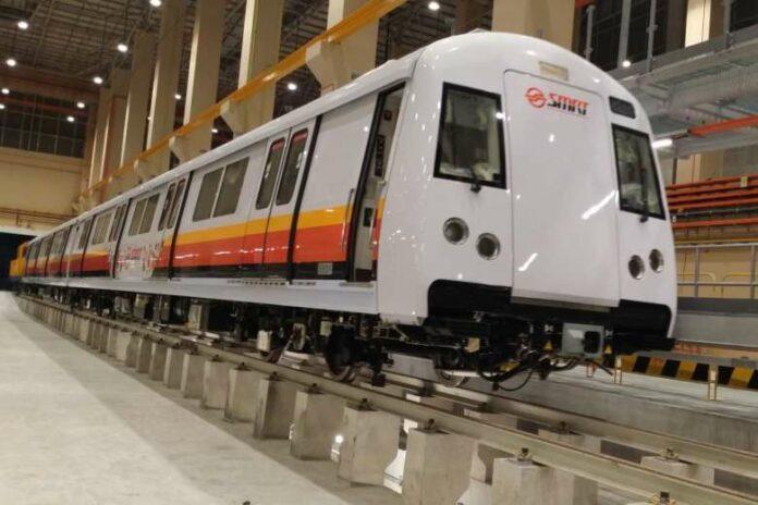 Kereta MRT Singapura Dikembalikan Ke Tiongkok