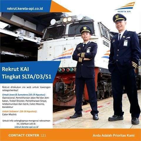 Rekrutmen Masinis Untuk KA Trans Sulawesi