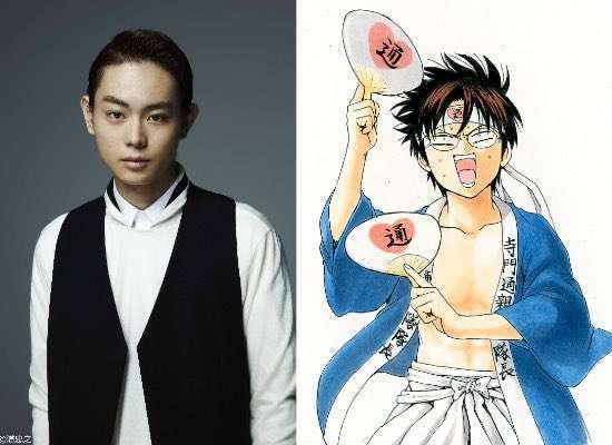 Masaki Suda (Kamen Rider W, Assassination Classroom) sebagai Shinpachi Shimura