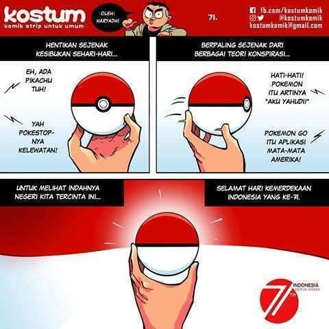 KOSTUM (komik strip untuk umum)