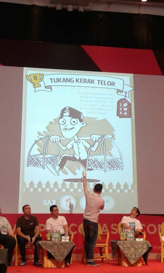 Desain prototipe kartu Laga Jakarta