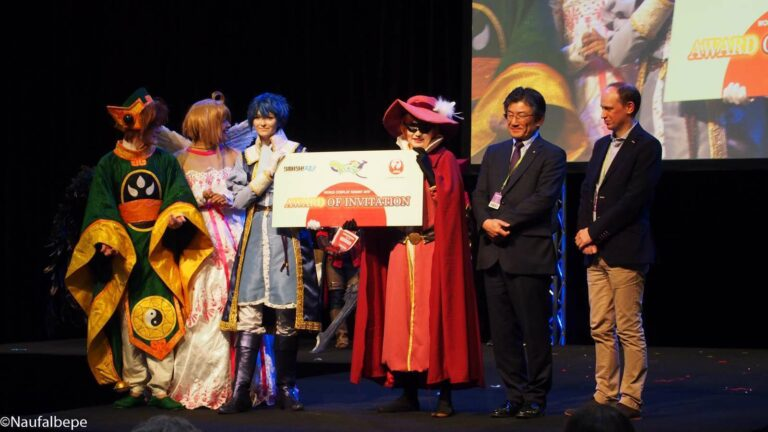 Parade Cosplay dan Pengumuman Finalis WCS yang akan bertanding di Nagoya City