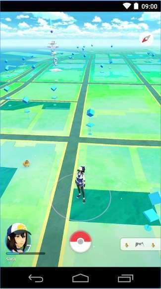 Tampilan game Pokemon GO (Niantic Inc/The Pokemon Company)