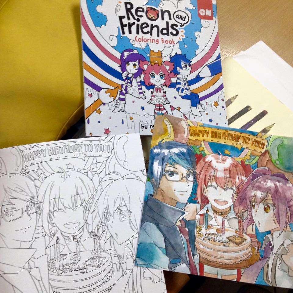Buku Mewarnai Re On Comics Siap Hadir Di Popcon Asia 2016 Kaori