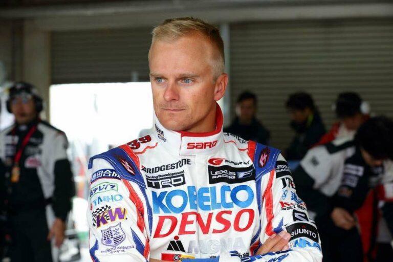 Heiki Kovalainen, mantan pembalap F1 dengan pengalamannya di F1 selama 7 tahun yang kini membalap di Super GT (sumber gambar: Reddit)