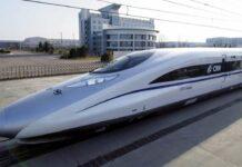 Ilustrasi kereta cepat Thailand - Tiongkok