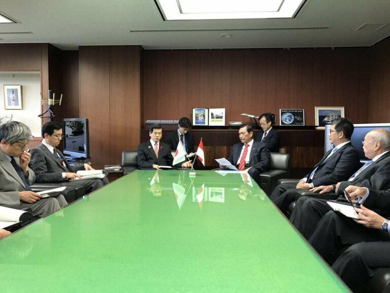 Kunjungan kerja Menko Luhut ke Jepang | Sumber: Akun Facebook resmi Menko Luhut