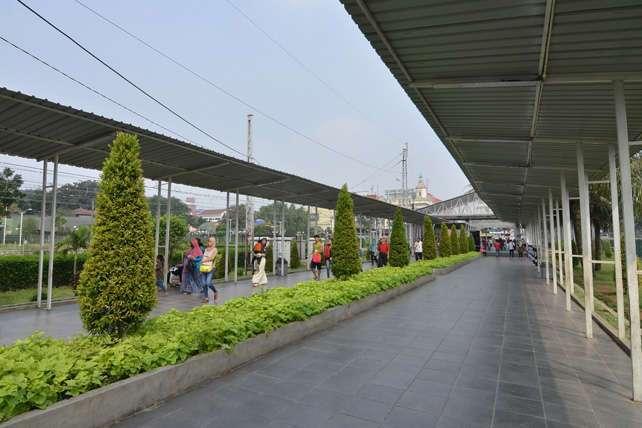 Koridor stasiun bogor | Sumber: heritage.kereta-api.co.id