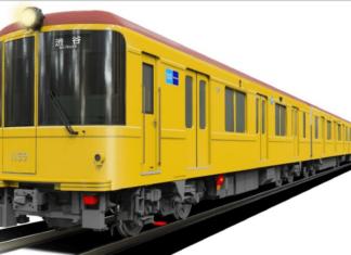 KRL seri 1000 dengan desain spesial | Sumber: Tokyo Metro
