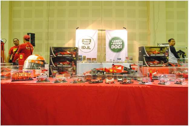 Booth Ferrari Diecast Owner Club Indonesia