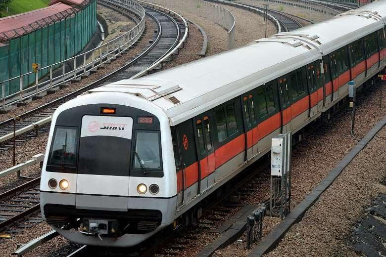 Kereta SMRT | Sumber: straitstimes.com