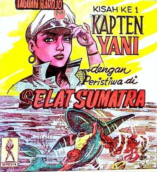 Salah satu komik Medan karya Taguan Hardjo...perasaan mirip apa gitu?