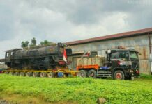 Lokomotif Uap D52099 Telah Tiba Di Solo