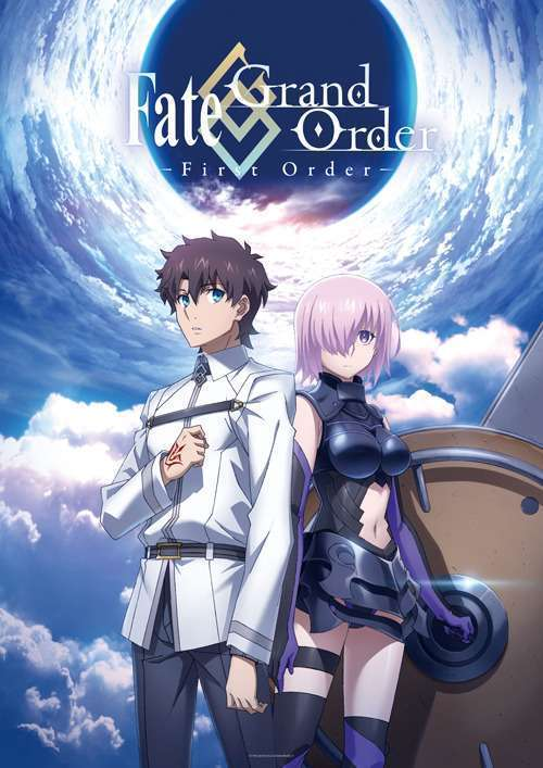 Key visual adaptasi anime Fate/Grand Order.