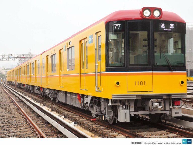 Mengadopsi warna yang sama dengan sang kakek, ini dia KRL seri 1000 generasi terkini | Foto: Tokyo Metro
