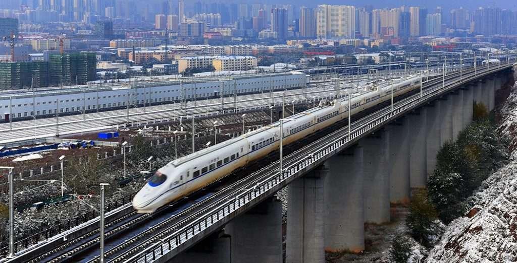 Kereta Cepat Di Semenanjung Liaodong
