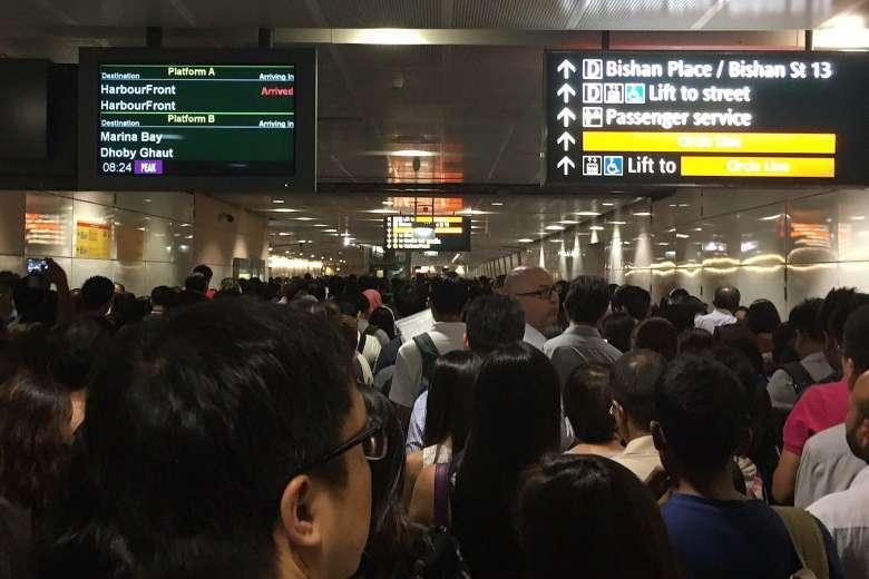 MRT Circle Line Singapura