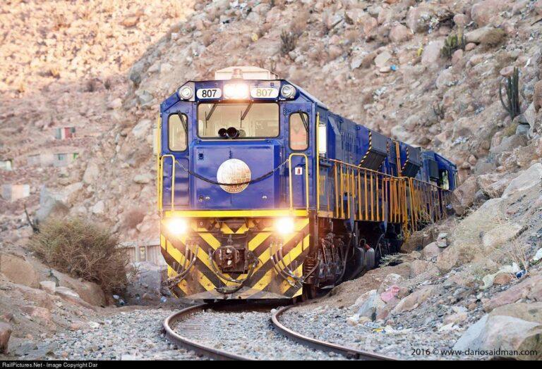 GT42AC di Peru | Foto: Dario Saidman