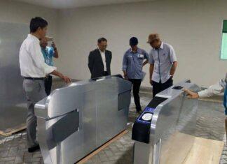 PT MRT Jakarta Meninjau Mock Up