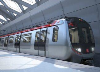 Rangkaian kereta bawah tanah otomatis buatan CRRC Changcun Railway