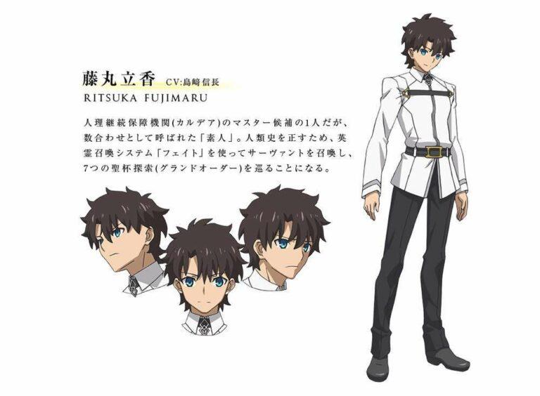 Fujimaru Ritsuka akan diisi oleh Shimazaki Nobunaga.
