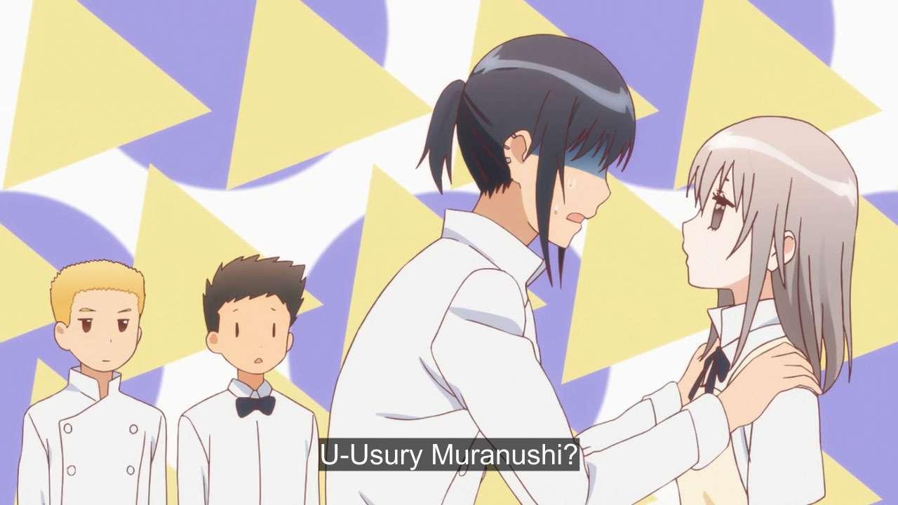 Adachi dan Muranushi. (Karino Takatsu / Square Enix / A-1 Pictures)