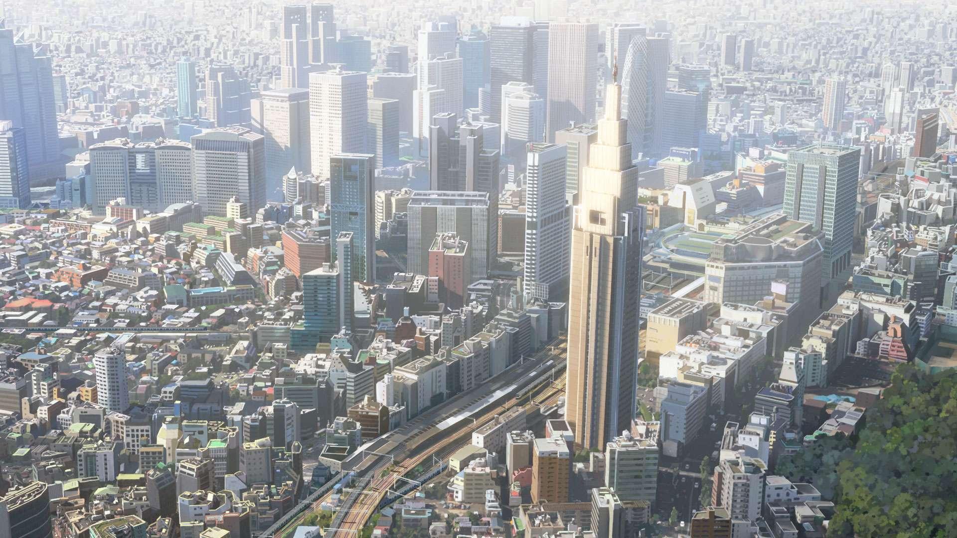 Shinjuku hari ini. (CoMix Wave Films)