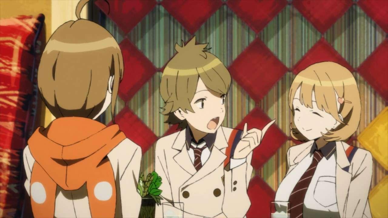Miyuu, Gamon, dan Ryouka. (Project OC9/Chiyo st.inc.)