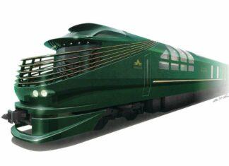 """Twilight Express MIZUKAZE"" milik JR West"
