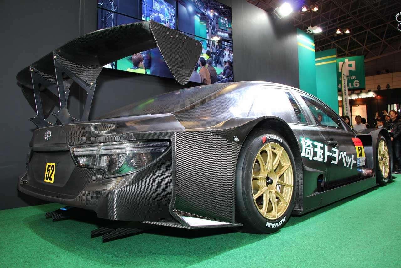 Inilah Toyota Mark X MC, Penantang Baru Super GT Kelas GT300 - KAORI Nusantara