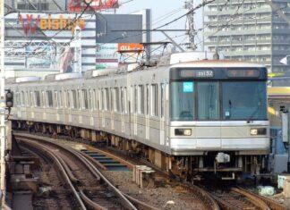 Rangkaian kereta bawah tanah seri 03 milik Tokyo Metro (Lerk / Wikipedia Commons)