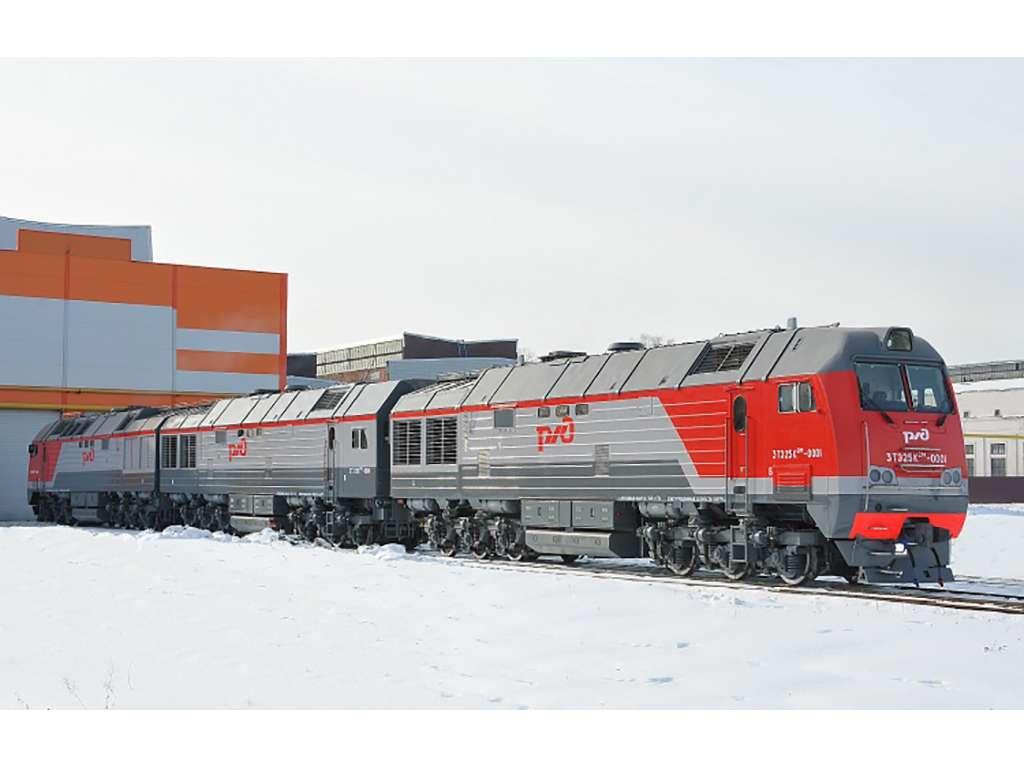 Lokomotif kelas berat milik Rusia, 3TE25K2M