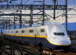 Shinkansen tingkat seri E4 (Moddb / Matthew)