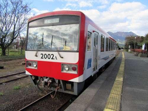 Armada kereta rel diesel (KRD) milik Minamiaso Railway