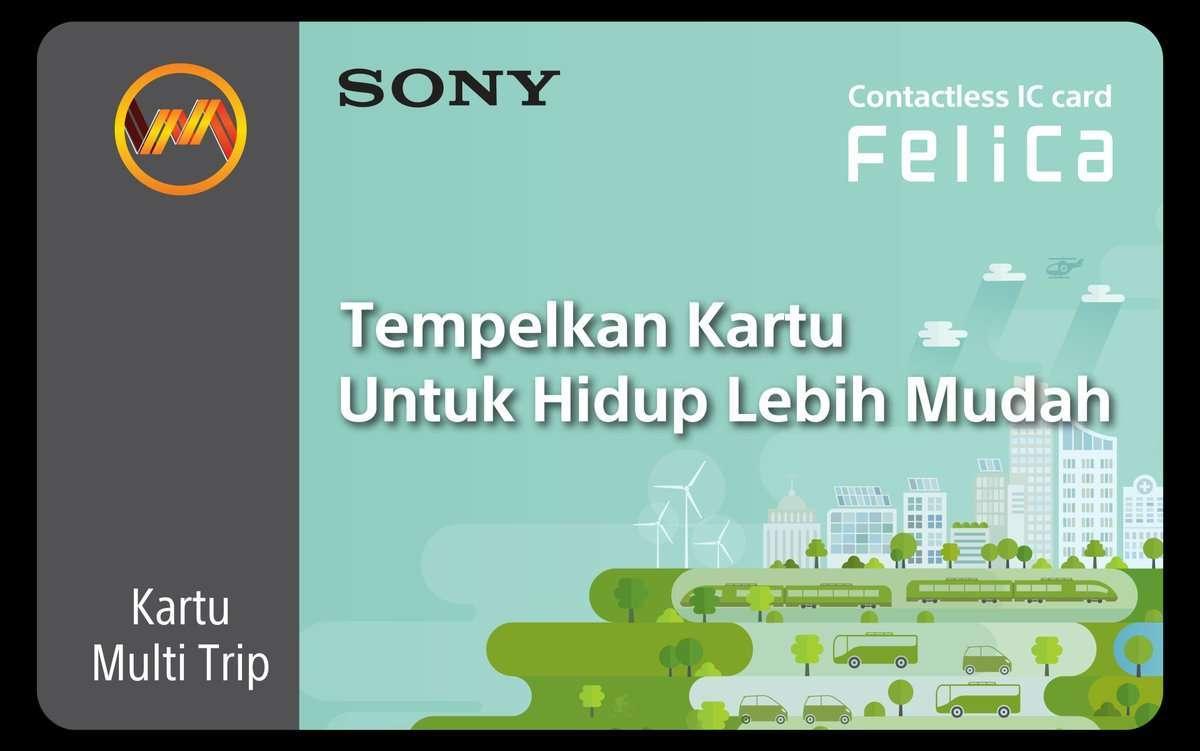 Model KMT FeliCa terbaru (KCJ / @CommuterLine)