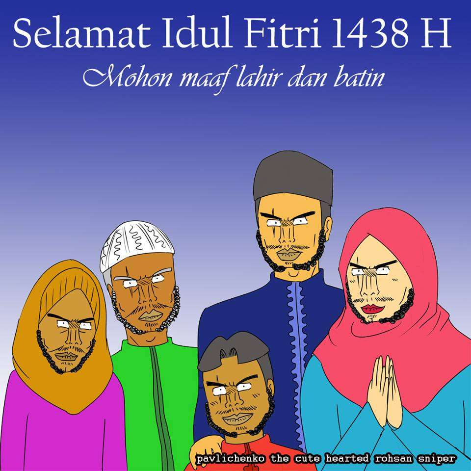 Dari Industri Kreatif Indonesia: Selamat Idul Fitri 1438