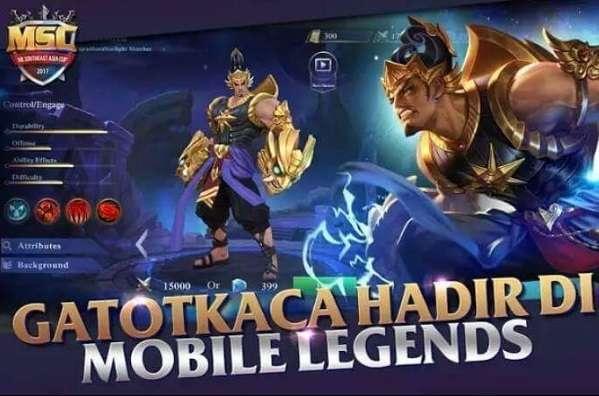 102 Gambar Hero Mobile Legends Gatotkaca HD