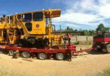 MTT Harsco Mark VI yang tiba di Sulawesi | Foto: Bekti