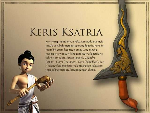 Novel Knight Kris Bayu dan Keris Kesatria
