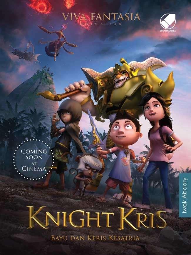 Novel Knight Kris Bayu dan Keris Kesatria