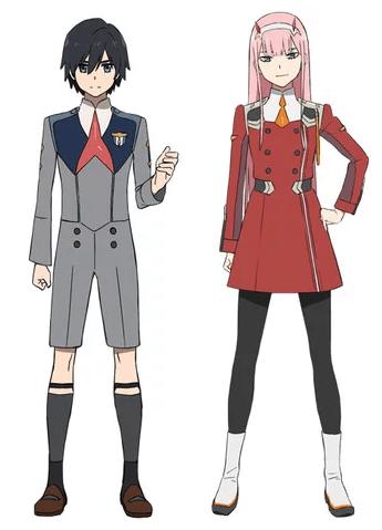 Visual Terbaru Anime Darling In The Franxx Dirilis Kaori Nusantara