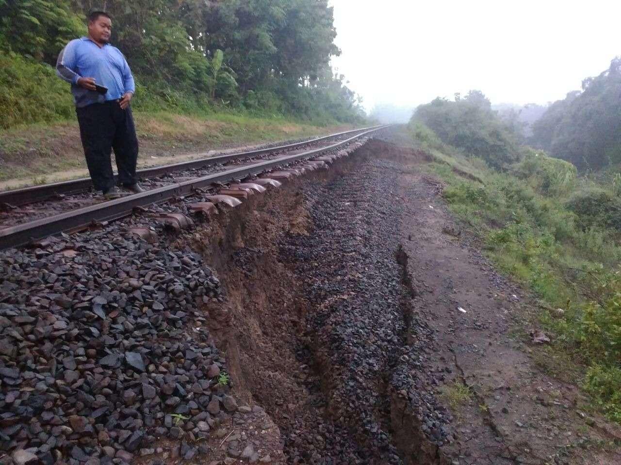 Jalur KA Semarang-Solo