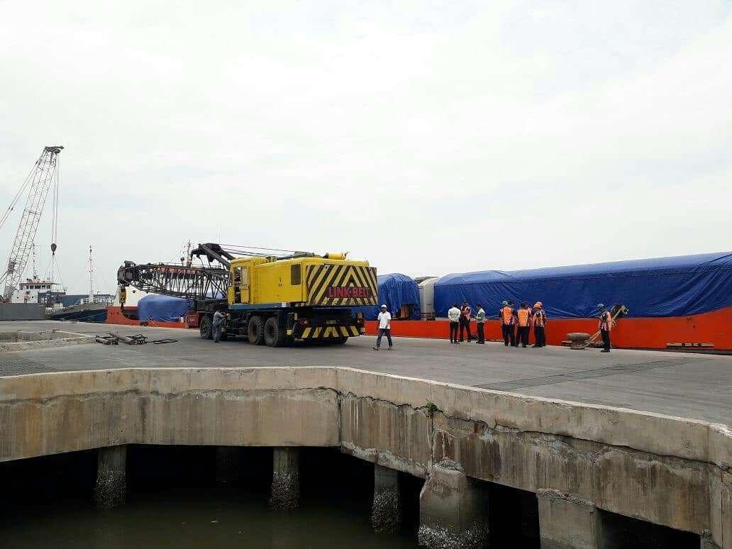 kereta kelas ekonomi premium tiba di Medan