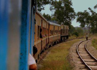 Jalur Kereta Di Myanmar